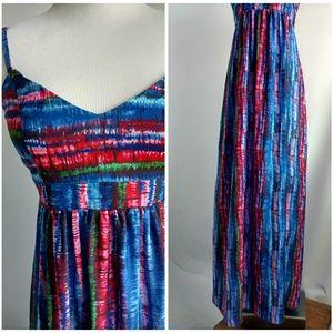 Felicity & Coco Spaghetti Strap Maxi Dress